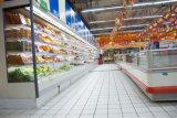 청과의 전시를 위한 에어 커튼을%s 가진 슈퍼마켓에 의하여 냉장되는 냉장고