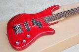 Guitare musique/4-String basse électrique de Hanhai avec le corps rouge