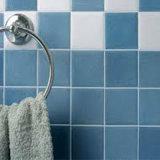 mattonelle di ceramica della parete del pavimento del quadrato puro di colore di bianco grigio 200X200