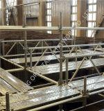 건물을%s 건축 Ringlock 비계 시스템
