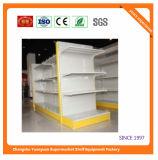 Metallkalter Stahl-Supermarkt-Regal für Lebensmittelgeschäft 08045