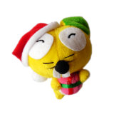 Het Stuk speelgoed van de Sleutelring van Kerstmis van de Kop van de wereld