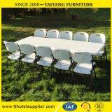 결혼식과 사건을%s 공장 가격 Retangle 중국 플라스틱 Foldabe 테이블