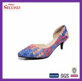 Chaussures de pompes de femmes d'unité centrale de serpent de mode