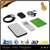인조 인간 OS 및 WiFi Kodi를 가진 HD 소형 영사기