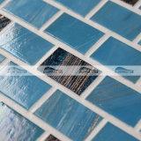 20X30mm 벽돌 유대 파란 혼합 녹는 유리제 모자이크 (BGZ010)
