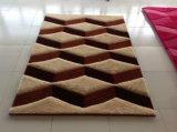 Matéria têxtil antiderrapante do tapete do tapete 5D de Inspissate
