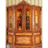 La cabina clásica de la frasquera/del vino para el comedor fija (H979)