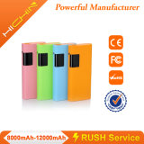 12000mAh Power Banks met LED Lighting en Display Screen