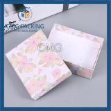 Картонная коробка крышки золота нижняя для бумажника