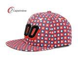 Insignias de la impresión en el sombrero modificado para requisitos particulares tela del Snapback