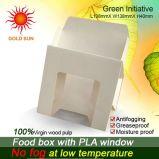 반대로 개구리 Windows를 가진 마분지 식품 포장 상자