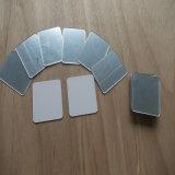 Feuille en plastique acrylique de miroir rond et carré