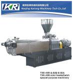 Parafuso gêmeo de EVA/TPR/TPU/TPV/PP sob a linha da peletização do sistema da estaca da água