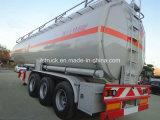 Radachse 3 50000 Liter Kraftstoff-Tanker-halb Schlussteil-