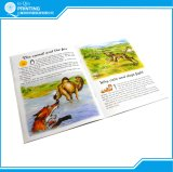Libro infantil impreso con el atascamiento de la grapa