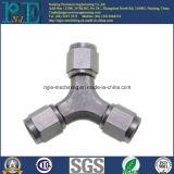 金属によって造られる鉄の精密によって機械で造られる部品