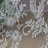 Cordón de nylon del acoplamiento de la gasa para los accesorios de la ropa y el vestido del vestido
