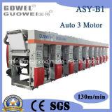 Gwasy-B de la máquina de 8 colores de impresión en huecograbado