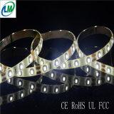 Одиночные свет прокладки цвета SMD 3528 теплый белый гибкий СИД (LM3528-WN60-WW)