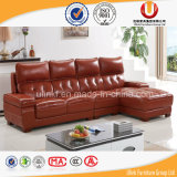 Il sofà moderno del cuoio della mobilia salone/della casa ha impostato (UL-X8055)