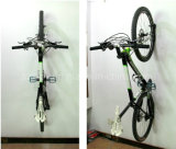 Black Coated Metal Wall Bike Hangers PV009