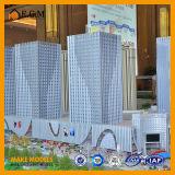 Modelos comerciais da exposição dos modelos do edifício/modelos modelo arquitectónicos do edifício do fabricante/projeto do edifício de modelagem
