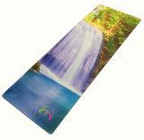 De duurzame Milieuvriendelijke Mat van de Oefening van de Yoga van het Natuurlijke Rubber,