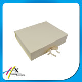 Caixa de papel de dobramento do luxo que empacota para a caixa de presente da roupa