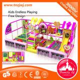 Оборудование скольжения спортивной площадки мягкой игры детей крытое