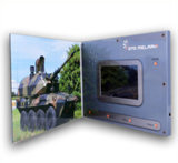 TFT Screen Video Greeting Card