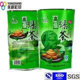 食品等級が付いているスタンドアップ式の特別なホイルの茶/Coffeeのプラスチック包装袋