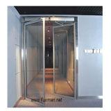 De dubbele Deur van het Ziekenhuis van de Schommeling in Roestvrij staal, de Deuren van het Glas