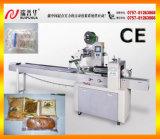 Equipos de embalaje automático Máquina de embalaje de flujo horizontal para paquete de almohadas de alimentos de panadería