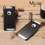 Cubierta innovadora de la caja de la fibra del carbón del diseño de Mcase para el iPhone 6 6s