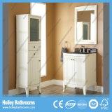 Vanité classique de salle de bains en bois solide de fin élevée avec le Module latéral (BV139W)