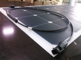 100With120With150W de semi-Flexibele Sunpower ZonneModule van de hoge Efficiency ETFE /Panel