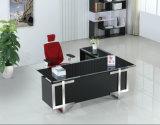 Bureau en verre exécutif de meubles de bureau
