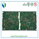 """2u """" CommunicationのためのGold PlatedのMatte多層Green PCB"""