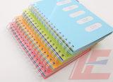 Muestras de las fuentes de escuela libre del cuaderno de la sala de clase