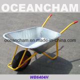 Ferramentas usadas no carrinho de mão de roda da construção (wb6404H)