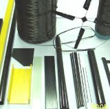 Profilé en u personnalisé de fibre de verre, cornière de FRP avec la qualité