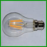 영국 Standard 220-240V 8W 840lm B22 LED Edison Bulb