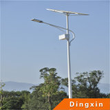 Diodo emissor de luz solar Street Light com Lithium Iron Battery