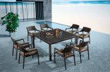Todo que vende o lazer confortável ao ar livre Using o jardim do Rattan que janta mobília ajustada com tabela de Chair& (YTA581&YTD020-3)