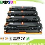 CE, OIN, cartouche d'encre compatible chinoise de couleur de RoHS pour la HP Ce320A, Ce321A, Ce322A, prix favorable/livraison rapide de Ce323A (128A)