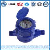 Contador del agua mecánico plástico del ABS del contador seco multi del frío de la dial de jet