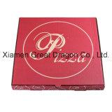 Blanc extérieur et cadre intérieur normal/de Papier d'emballage pizza (PB160612)