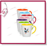 12oz Sublimation Schwertwal Coated Inner Color Latte Mug