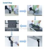 15-30W réverbère Integrated des éclairages LED DEL solaire